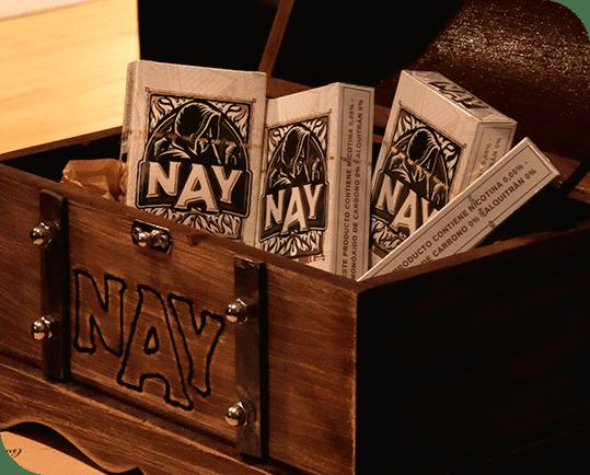 Baú de madeira com essências Secrets of Nay