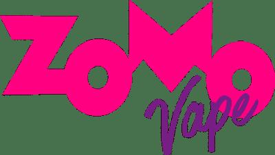Logotipo Rosa e Roxo Zomo Vape