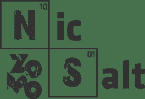 Logotipo da nic salt cor preto